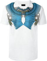 Les Hommes geometric chest print T-shirt
