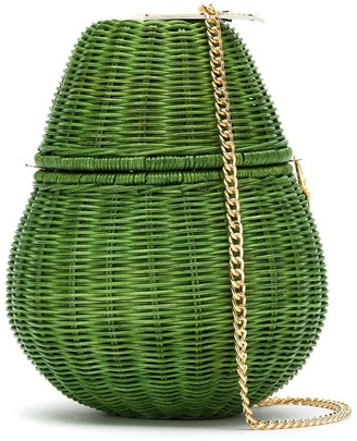 Serpui Marie Straw Bag
