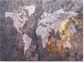 "'World Map Rock' Canvas Print by Michael Tompsett, 18"" x 24"""