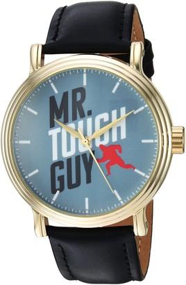 Disney Men's WDS000581 The Incredibles 2 Analog Display Analog Quartz Black Watch