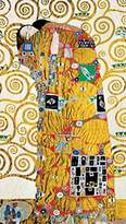 Gustav 1art1 Posters Klimt Poster Art Print - L abbraccio (28 x 20 inches)