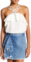 Romeo & Juliet Couture Strappy Ruffle Tank