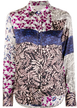 Forte Forte Mixed Floral Print Shirt