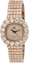 Adee Kaye Women's AK26N-LRG/CR Bijou Analog Display Quartz Rose Gold Watch