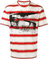 Stella McCartney striped graphic T-shirt