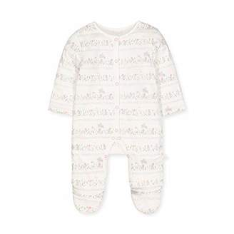 Mothercare Baby IO G Lovely Bunny Wadded WIS Bodysuit,(Size:68)