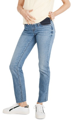 Madewell Side Panel Perfect Adjustable Edition Maternity Jeans
