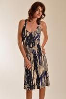 Plenty by Tracy Reese Tie Dye Slip Dress In Indigo