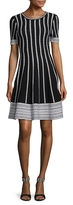 Alexia Admor Knit Fit-and-Flare Dress