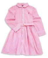 Ralph Lauren Toddler's, Little Girl's & Girl's Bengal Striped Fit-&-Flare Dress