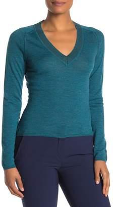 Rag & Bone Pamela Merino Wool V-Neck Sweater