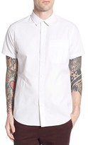 Tavik Men's Uncle Trim Fit Dobby Woven Shirt