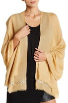 Saachi Gold Wool & Silver Sprinkle Embellishment Wrap