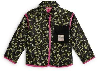 N°21 N21 Kids Floral Quilted Jacket
