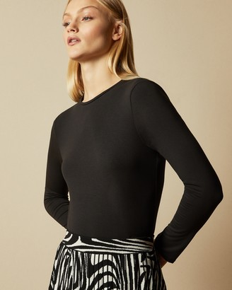 Ted Baker Fitted Long Sleeved Top