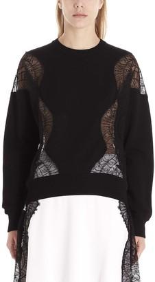 Givenchy Lace Paneled Sweater