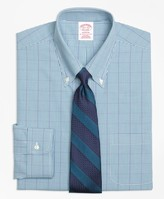 Brooks Brothers Madison Classic-Fit Dress Shirt, Non-Iron Gingham