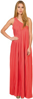 Caffe Swimwear - Long One-Shoulder Pleated Dress VP1716