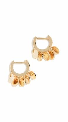 Jules Smith Designs Women's Disc Huggy Earrings