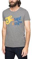 Esprit Men's Cn Mel Aw Short Sleeve T-Shirt