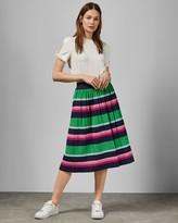 Ted Baker Supernatural Stripe Knit Skirt