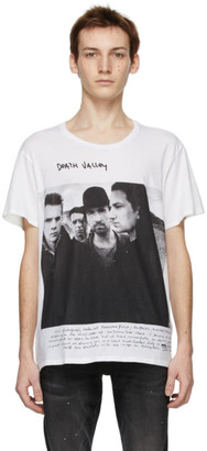 R 13 White Anton Corbijn Edition U2 Death Valley T-Shirt