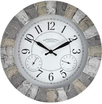 FirsTime & Co. Stoneybrook Outdoor Clock