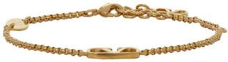 Valentino Gold Garavani VLogo Chain Bracelet