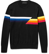Rag & Bone - Glitch Intarsia Cotton Sweater
