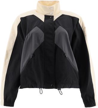 Kenzo Short Windbreaker Jacket With Logo