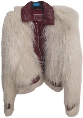 Giambattista Valli X H&m White Fur Jacket for Women