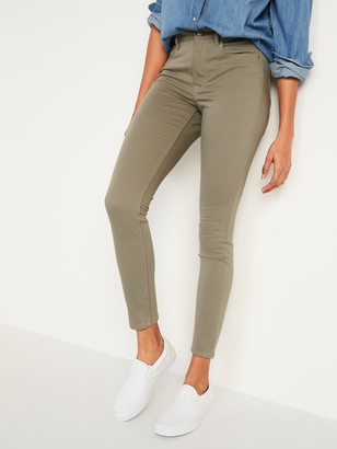 Old Navy High-Waisted Rockstar Super Skinny Sateen Pop-Color Jeans for Women