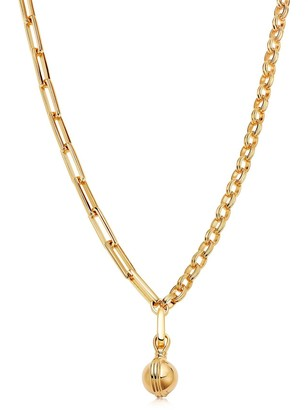 Missoma Gold Small Sphere Chain Necklace
