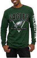 Junk Food Clothing Men's Philadelphia Eagles Nickel Formation Long Sleeve T-Shirt