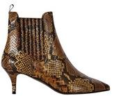 Isabella Oliver Elia B Snake Leather Ankle Boot