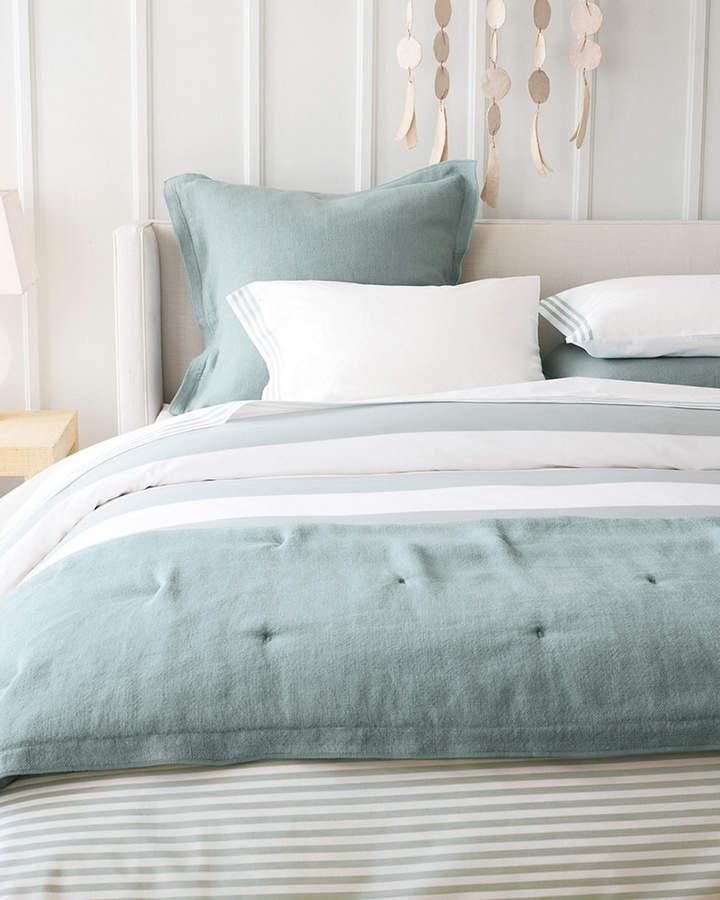 Serena & Lily Serena & Lilly Fouta Yarn-Dyed Stripe Duvet Cover