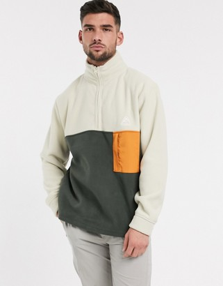Topman fleece in khaki