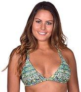Body Glove Women's Tropi-Cal Reversible Flare Halter Bikini Top
