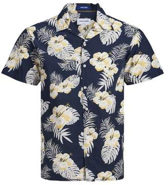 Jack and Jones Cole Floral Short Sleeve Comfort Fit Hawaiian Shirt