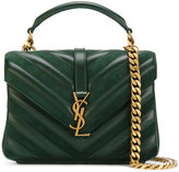 Saint Laurent Monogram Collège satchel