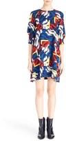 Kenzo Women's 'Clouds & Corners' Print Silk Dress