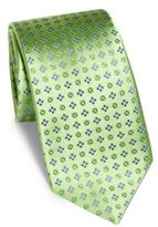 Charvet Floral Small Pattern Silk Tie