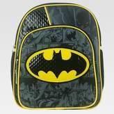 """Batman 12"""" Kids' Mini Backpack with Cape - Black"""