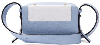 Lutz Morris Maya Intarsia Leather Cross-body Bag - Light Blue