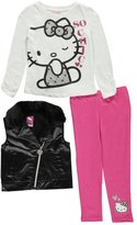 "Hello Kitty Little Girls' ""Kitty on the Go"" 3-Piece Outfit"