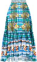 Peter Pilotto printed skirt