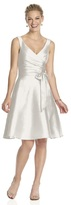 Alfred Sung D624 Bridesmaid Dress in Snow White
