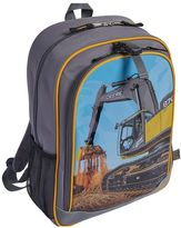 John Deere Boys Photoreal Excavator Backpack