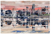 "Parvez Taj NYC Reflection Wall Art - 36"" x 24"""