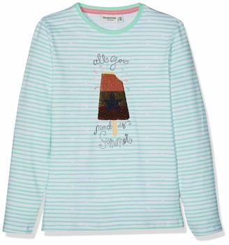 Salt&Pepper Salt and Pepper Girls' Longsleeve Sunshine Stripe Wende T-Shirt